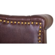 Дизайнерские диваны из кожи Royal sofa brown, фото 6