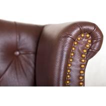Дизайнерские диваны из кожи Royal sofa brown, фото 7