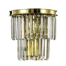 Дизайнерский настенный светильник Odeon golden wall, фото 1