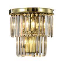 Дизайнерский настенный светильник Odeon golden wall, фото 2