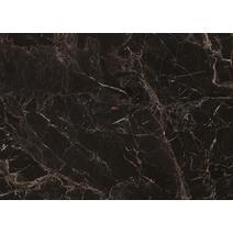 Стеновая панель 4200 № 20 Мрамор марквина черный 6 мм, фото 1