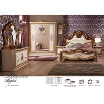 Анита комплект кровать 1600 с тумбочками, фото 2