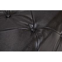 Пуф Amrit black leather, фото 3