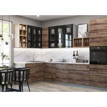 Кухня Лофт Шкаф верхний угловой переходной ПУ 650 / h-700 / h-900, фото 2