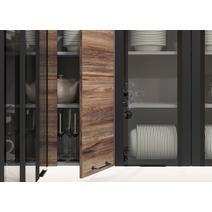 Кухня Лофт Шкаф верхний угловой переходной ПУ 650 / h-700 / h-900, фото 3