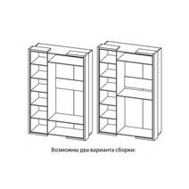 Барселона Шкаф для одежды МН-115-03-220, фото 3