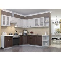 Кухня Империя Шкаф верхний угловой стекло ПУС 550*550, фото 2