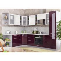 Кухня Капля Шкаф верхний угловой ПУ 600*600, фото 5