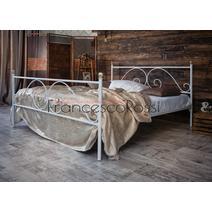Кровать кованая Анталия 1.4 / 2 спинки, фото 3