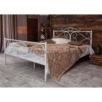 Кровать кованая Валенсия 1.4 / 2 спинки, фото 2