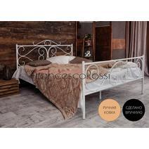 Кровать кованая Валенсия 1.4 / 2 спинки, фото 1