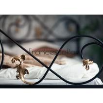 Кровать кованая Венеция 1.6 / 2 спинки, фото 11