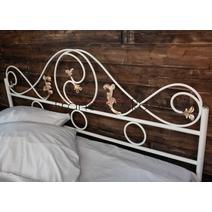 Кровать кованая Венеция 1.4 / 2 спинки, фото 13