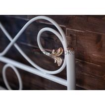 Кровать кованая Венеция 1.6 / 2 спинки, фото 14