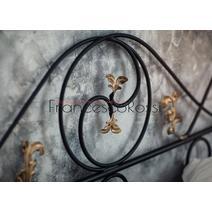 Кровать кованая Венеция 1.4 / 2 спинки, фото 9