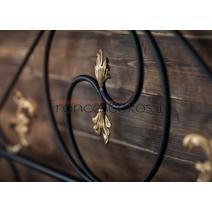Кровать кованая Венеция 1.6 / 2 спинки, фото 8