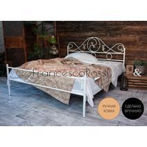 Кровать кованая Венеция 1.4 / 1 спинка, фото 1