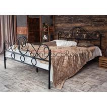 Кровать кованая Венеция 1.6 / 2 спинки, фото 2