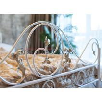 Кровать кованая Венеция 1.6 / 2 спинки, фото 6