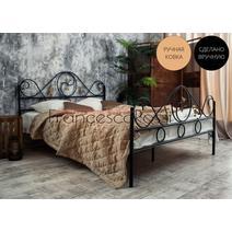 Кровать кованая Венеция 1.4 / 2 спинки, фото 1