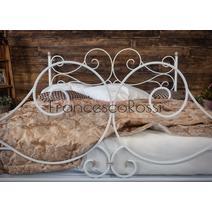 Кровать кованая Верона 1.4 / 2 спинки, фото 3
