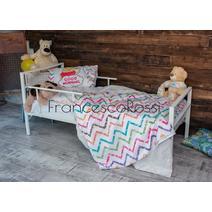 Кровать кованая Аристо kids 0.7х1.6, фото 3