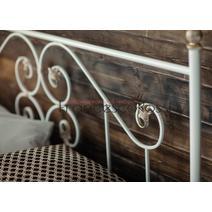 Кровать кованая Камелия 1.6 / 2 спинки, фото 6