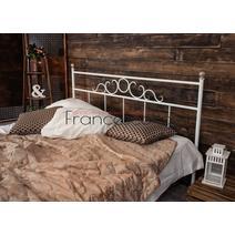 Кровать кованая Сандра 1.6 / 2 спинки, фото 6