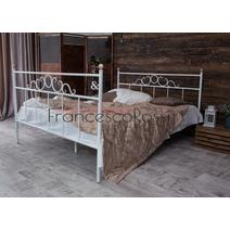 Кровать кованая Сандра 1.6 / 2 спинки, фото 3