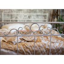 Кровать кованая Сандра 1.6 / 2 спинки, фото 5