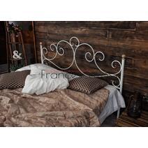 Кровать кованая Флоренция 1.4 / 2 спинки, фото 6