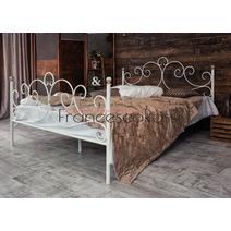 Кровать кованая Флоренция 1.6 / 2 спинки, фото 2