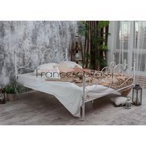 Кровать кованая Флоренция 1.4 / 2 спинки, фото 3