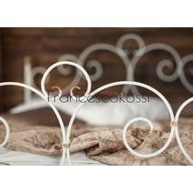 Кровать кованая Флоренция 1.4 / 2 спинки, фото 5