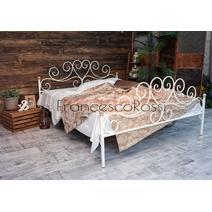 Кровать кованая Кармен 1.4 / 2 спинки, фото 2