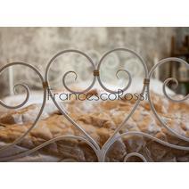 Кровать кованая Кармен 1.4 / 2 спинки, фото 3