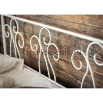 Кровать кованая Лацио 1.6 / 2 спинки, фото 7