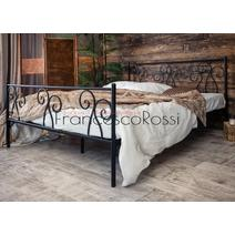 Кровать кованая Лацио 1.4 / 2 спинки, фото 4