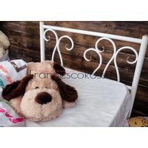 Кровать кованая Лацио kids 0.7х1.6, фото 4