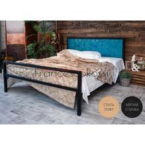 Кровать кованая Лоренцо 1.6, фото 14