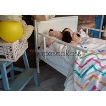 Кровать кованая Лоренцо kids 0.7х1.6, фото 4