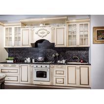 Кухня Верона секция 800 навесная 2-створчатая с сушкой, фасад со стеклом, фото 3