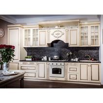 Кухня Верона секция 800 навесная 2-створчатая с сушкой, фасад со стеклом, фото 5