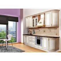 Кухня Анжелика Багет с фризом радиусный в ПВХ пленке, фото 2