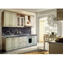 Кухня Анжелика Багет с фризом радиусный в ПВХ пленке, фото 5
