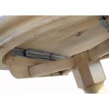 Стол обеденный Майкрофт раскладной овальный 700*1100/1400, фото 15
