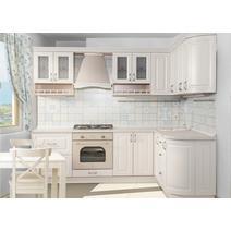 Кухня Кантри Багет с фризом радиусный в ПВХ пленке, фото 5