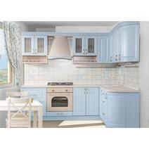 Кухня Кантри Багет с фризом радиусный в ПВХ пленке, фото 6