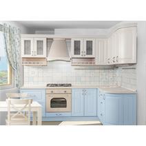 Кухня Кантри Багет с фризом прямой в ПВХ пленке 2,4 м, фото 4