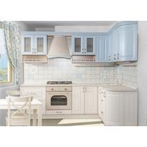 Кухня Кантри Багет с фризом радиусный в ПВХ пленке, фото 3